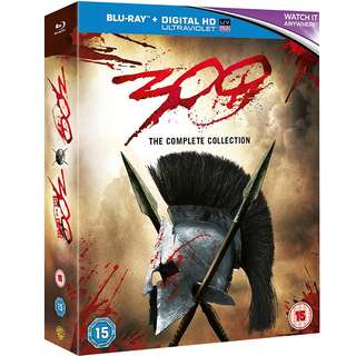 300: The Complete Collection Blu Ray