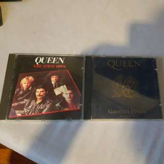 Queen greatest hits & greatest hits II CD