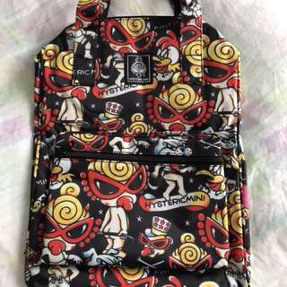 Hysteric 100%real 100%new backpack bag 全新背囊奶粉袋