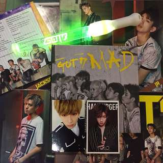 GOT7 MAD ALBUM +  🎁