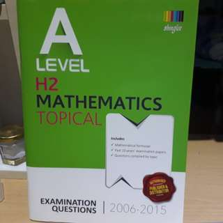 H2 Mathematics A Level Topical TYS 2006 - 2015 (with suggested solutions)