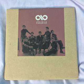 INFINITE Paradise The 1st Album Special Repackaged