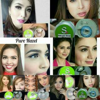 Sparkle Contact lens - Good for 1 year. - 100% Safe - #1 Best selling Contact lens in the philippines.  DOLL EYE size ( 15-16mm Diameter )