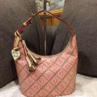 Authentic Dooney & Bourke small Hobo bag