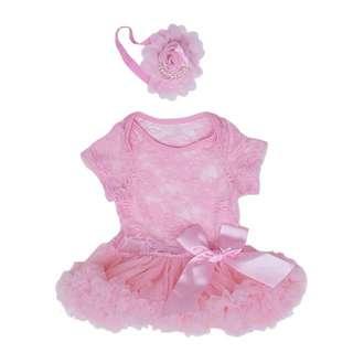 DRESS TUTU BABY + HEADBAND