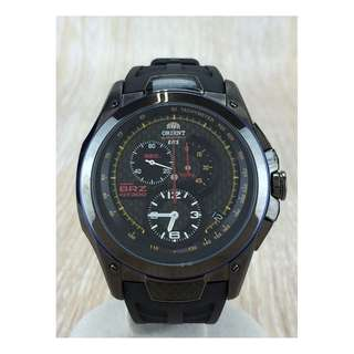 SEIKO ◆ Solar Wrist Watch / Analog / NVY / SLV (SHIP FROM JAPAN)