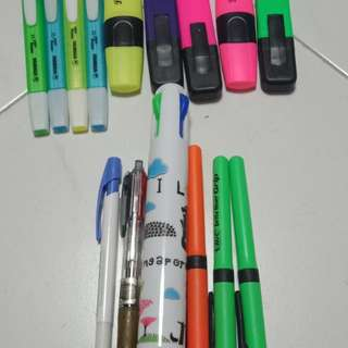 Highlighter and Pens/Office stationary/School stationary