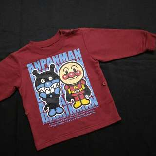 Baju sejuk budak lelaki Anpanman