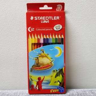 #Huat50sale Brand New Staedtler 12pcs Luna Colour Pencil