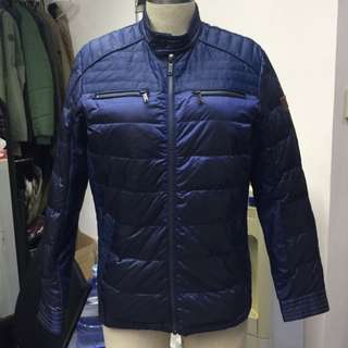 Chevignon Men's Thin Down Jacket / Chevignon男裝薄羽絨 (深藍色)
