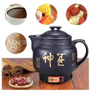 Auto Boiling Ceramic Medicine Jar