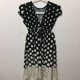 Dress fashion polkadot
