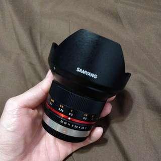 Samyang 12mm f2 m43