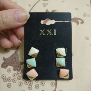 Anting Forever 21 (isi 3 pasang)