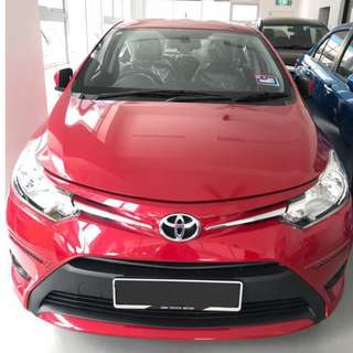 TOYOTA VIOS 1.5 (A) 2017 model