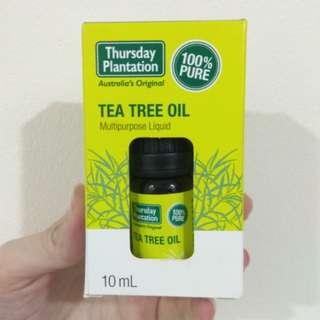 *BNIB* 100% Pure Tea Tree Oil 10ml by Thursday Plantation