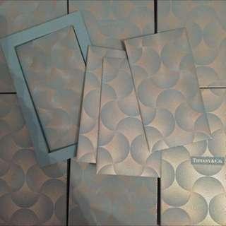 Tiffany 藍色金線利是封 (一盒8個)