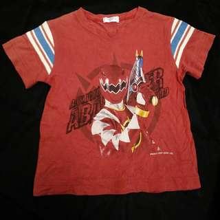 Tshirt budak lelaki Power Rangers