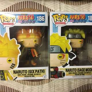 Naruto Sage and Six Path Funkos (Bootleg)
