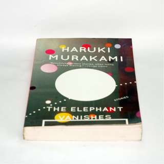 NEW The Elephant Vanishes - Murakami (2nd copy)