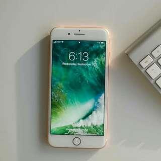 Apple iPhone 8 Plus 64 GB - Gold Kredit bisa proses mudah