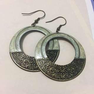 復古民族風耳環