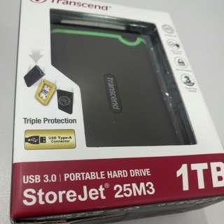 1TB External HDD (Transcend)