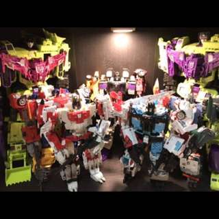 Transformers unite warriors collection