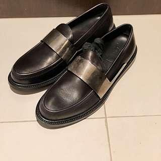 YSL SLP metal Loafers 42.5