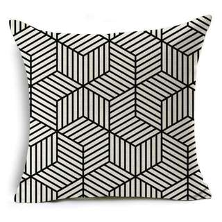 Printed Linen Throw Pillows/Cushions