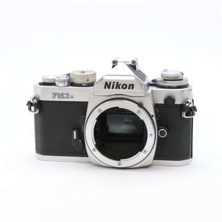 Nikon FM3A SILIVER CAMERA  - BODY ONLY(SHIP FROM JAPAN