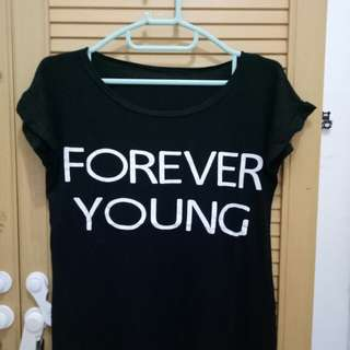forever young shirt