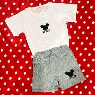 Children Mickey two piece sets