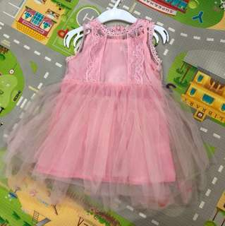 NEW Princess Pink Dress Birthday Party Size 90