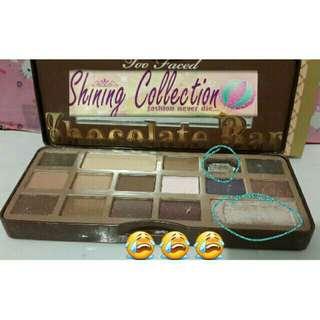 eyeshadow chocolate warm color (defect)