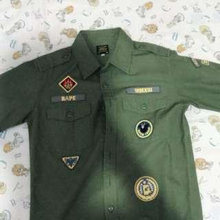 Bape Troop Shirt