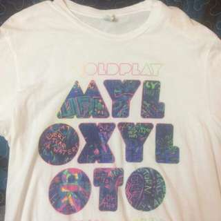 Coldplay shirt