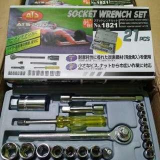 Kunci socket 21pcs
