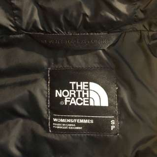 North Face 700 down-filled wind breaker
