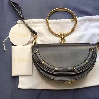 Chloe Nile Black Bag Chanel Fendi Hermes Gucci Givenchy Saint Laurent celine Valentino