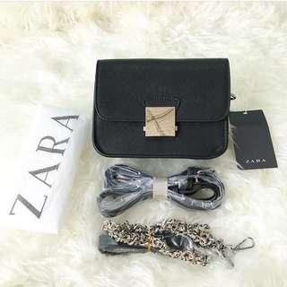 Zara Floral Rantai Original