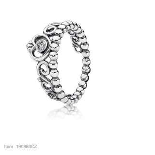 Authentic Pandora My Princess Stackable Ring