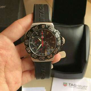 👉Authentic - TAG HEUER F1 Chrono Tahun 2011 #d2e