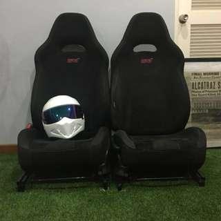 Subaru Impreza WRX STi Spec C Seats