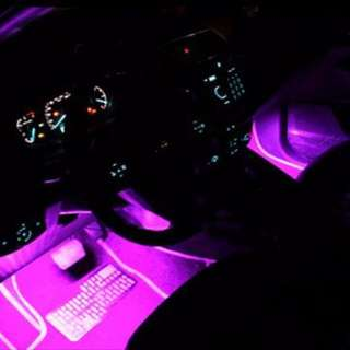 Car LED Interior light changer - 7 colors choice to brighten your interior atmosphere!
