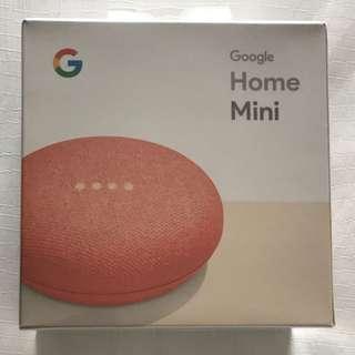🇺🇸 Google Home Mini - Exclusive Coral Colour