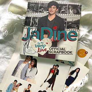 JaDine On The Wings of Love Official Scrapbook with James' Signature