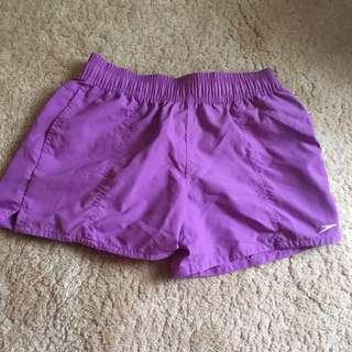 Speedo Purple Board Shorts
