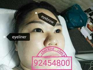 eyebrow or eyeliner