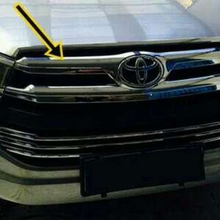 Cover grill / hood moulding all new innova reborn 2016